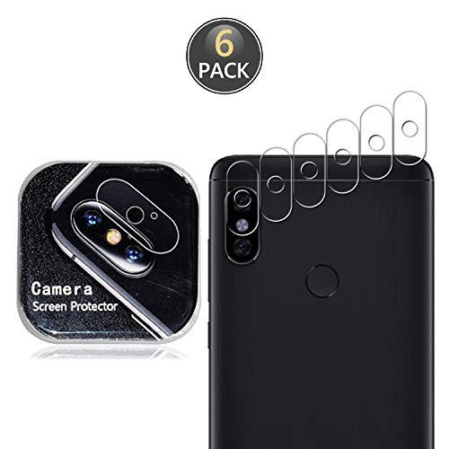Owbb [6 Stück] Kamera Linse Schutzfolie Für Xiaomi Redmi Note 5, Redmi Note 5 Pro Smartphone Full Coverage Schutz High Transparent 7H Härte Zurück Camera Film