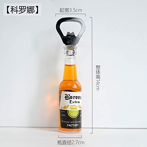 Stereo Kühlschrank Aufkleber Flaschenöffner Bier Flaschenöffner Magnetische Magnetische Aufkleber Corona Klein
