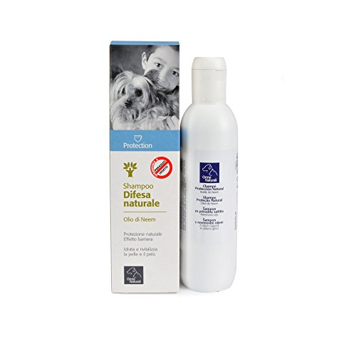 Camon Shampoo Olio di Neem Antiparassitari Cane, Multicolore, Unica