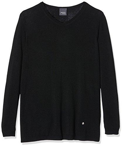 persona-by-marina-rinaldi-damen-pullover-arancio-schwarz-074-nero-l