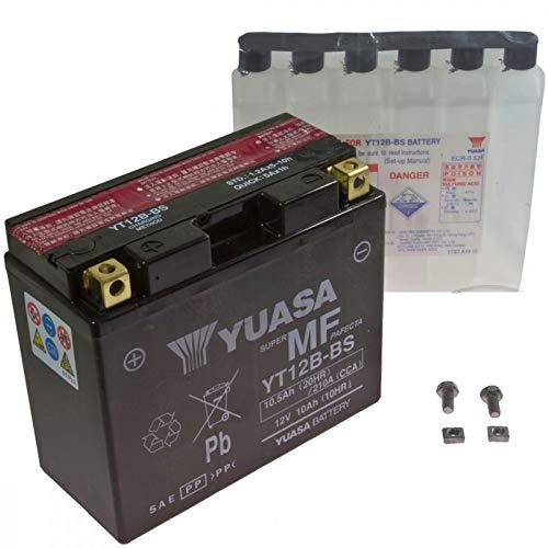 Yuasa AGM Batterie Diavel 1200 AMG ABS 2011-2012 YT12B-BS - Amg-batterie