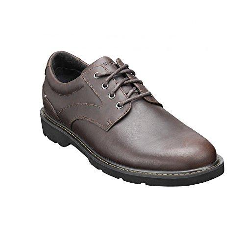 Rockport Charlesview - Scarpe con lacci, uomo Marrone