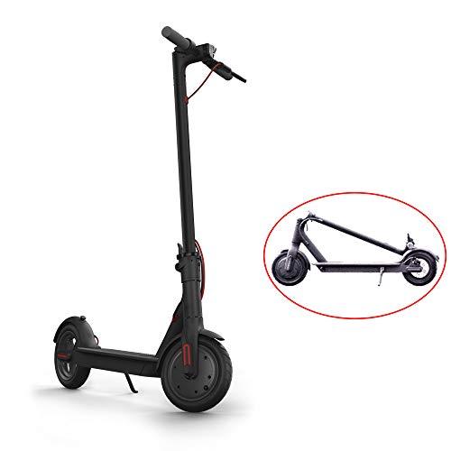 HHORD Scooter Elettrico per Adulti, Display a LED, Design Leggero e Pieghevole, Motore ad Alta Potenza, Scooter a Due Ruote con bilanciamento,Nero