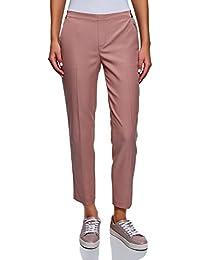 Amazon.fr   femme pantalon taille elastique   Vêtements 8099888f1c3