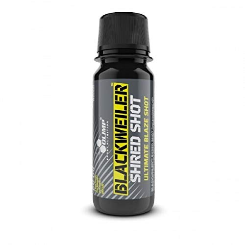 Olimp Blackweiler Shred Shot, 20x60ml Hardcore Pre Workout Booster (Citrus Punch)