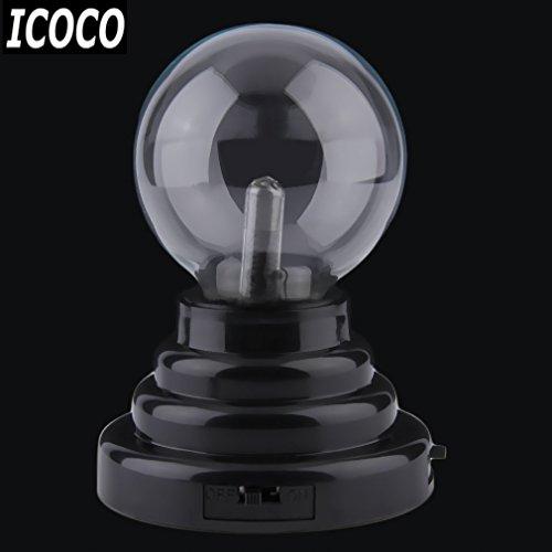 Preisvergleich Produktbild USB-Negativ-ionen-Ball elektrostatische Kugel Lampe Licht Magic Crystal Ball Desktop Blitz Party Berührungsempfindliche Licht