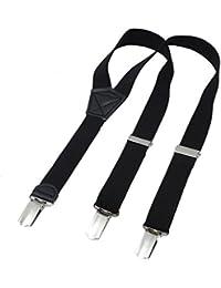 DonDon Kinder Hosenträger 2 cm schmal längenverstellbar für eine Körpergröße von 80 cm bis 110 cm bzw. 1 - 5 Jahre