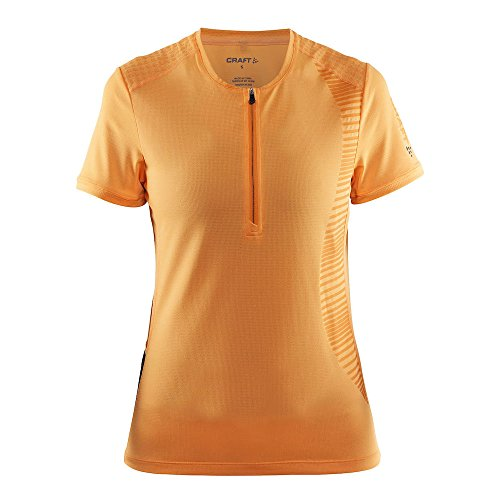 Craft pour femme Grain à manches courtes pour orange