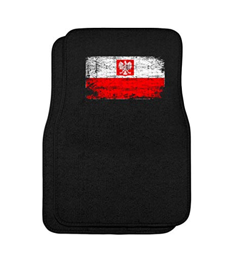 Generic Polska Poland Polen Vintage Adler Flagge Retro - Schlichtes Und Witziges Design - Automatten