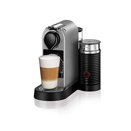 Turmix TX275 Citiz & Milk Silver silber Nespresso Kapselmaschine