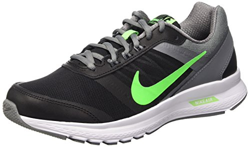 136abca012e Nike 807092-007 Men S Air Relentless 5 Running Shoe Black Vltg Green Cl Gry  White 8 5 D M Us- Price in India