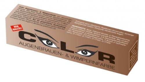 Comair Color Augenbrauen- und Wimpernfarbe naturbraun 15 ml Augenbrauen- & Wimpernfarbe naturbraun 15 ml
