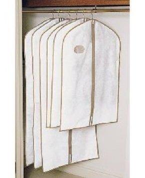 Kleidersack / Kleiderhülle, atmungsaktiver Stoff, 6 Stück