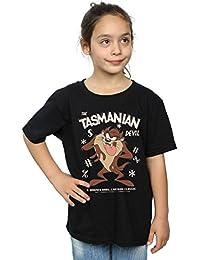 Looney Tunes niñas Vintage Tasmanian Devil Camiseta