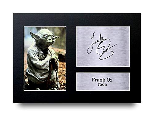 HWC Trading Frank Oz Geschenke Unterzeichneten A4 Gedrucktes Autogramm Star Wars Yoda Druck-Foto-Bilderanzeige