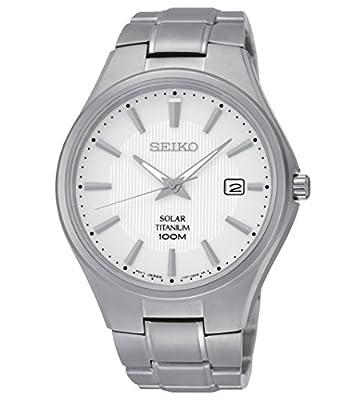 SEIKO Reloj Solar Titanium Hombre Sólo el tiempo - sne375p1 de SEIKO