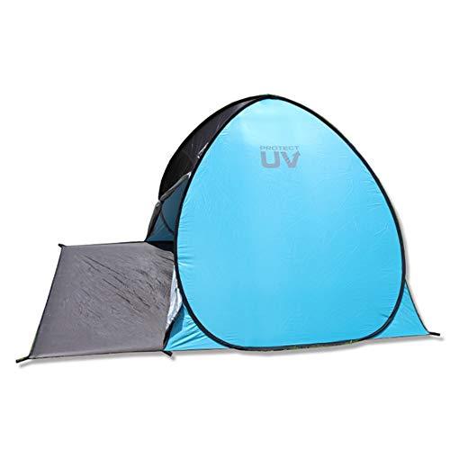 Outdoor Supplies Praktisch, multifunktional Strand Zelt 3-4 Personen Familie UV-Schutz Große Größe Sonnenschirm Tragbare Sonnenschutz Automatische Instant Baldachin Zelt Für Camping Angeln Wandern Pic