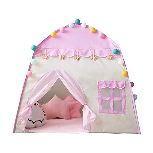 Kinder Zelt, Zelt spielhaus 3-4 Kinder Indoor spielzeughaus mädchen Geburtstagsgeschenk über 130 100 130 cm