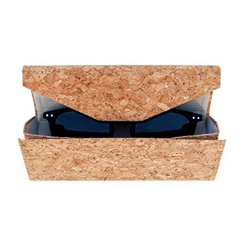 Good Design Works Cork Sunglasses Eco Friendly Case | Protective Glasses Pouch Sonnenbrillen Umweltfreundliches Brillenetui | Schutz-Etui für Brillen aus Kork, 16 x 1 x 6
