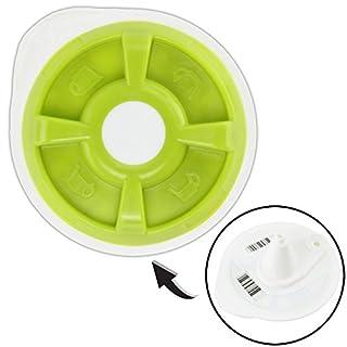 Spares2go T-Discs für Bosch Tassimo - T12 T20 T32 T40 T42 T65 T85 oder VIVY Kaffeemaschine (grüne T-Disc)