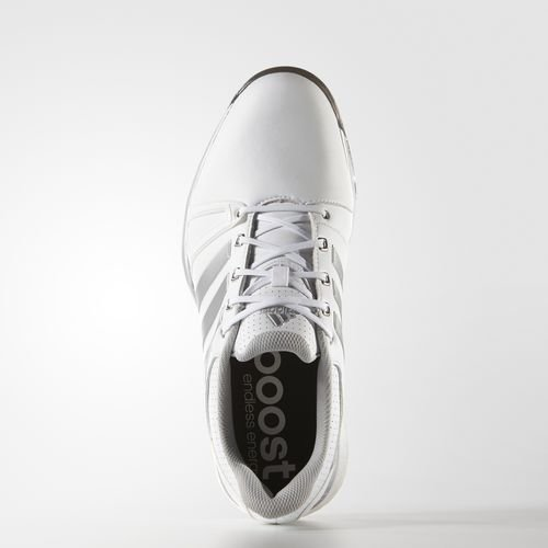 meet c47d7 78be3 adidas Adipower Boost 2 - Zapatos de Golf para Hombre, Color BlancoNegro