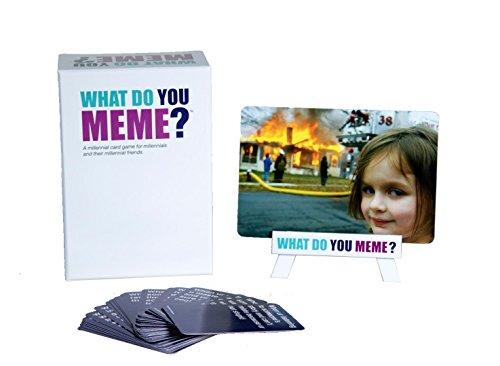 GTNK Spaß und Kreativ Party Spiel Was hast du Meme für Familienfeiern, Camping, Fun Nights - Am besten für Teens, Erwachsene und Familienmitglieder What Do You Meme (Spaß Camping)