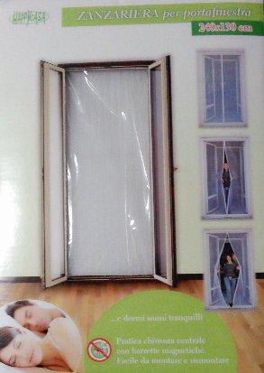 ilshopping Fliegengitter für Fenster 240x 130cm (Peppa Pig Kostüm Spiele)