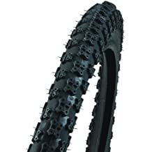 "Profex - Cubierta para bicicletas BMX (20"" x 2,125""), color negro"