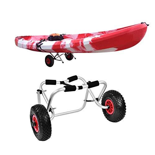 Zerone - Carro de Kayak Plegable de Aluminio