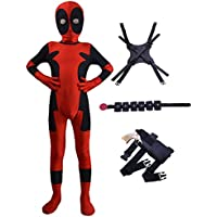 BOODUN Cosplay Fancy Dress Costume for Kids Halloween Full Bodysuit Onesie Spandex Jumpsuits,Old