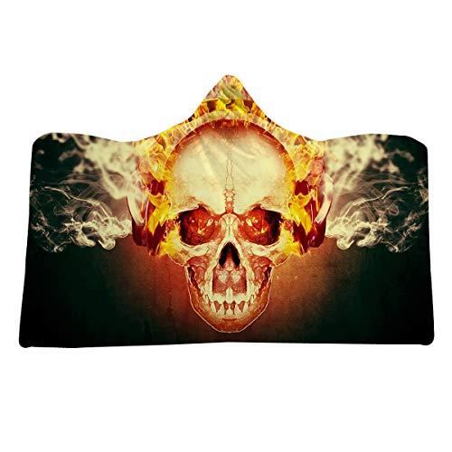 Decke Voll Polyester Flannelette Das Skelett Warm Elegant Tragbare Decken ()
