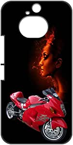 a AND b Designer Printed Mobile Back Cover / Back Case For HTC One M9 Plus (HTC_M9Plus_3D_327)