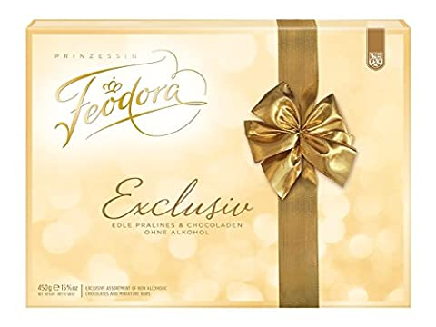Feodora Chocolade Pralinen Exclusiv, 1er Pack (1 x 450 g)