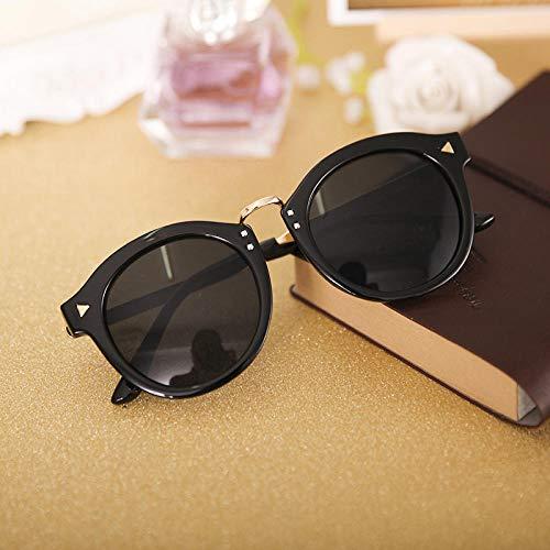 BHLTG Sonnenbrille Männer und Frauen Zustrom Kw Gesichtshaut Sonnenbrille Mode Metall Pfeil Retro Sonnenbrille Radfahren Fahren Mirror-4