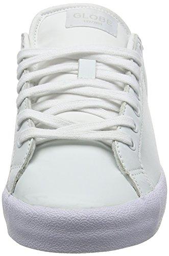 Globe Status Unisex-Erwachsene Sneakers Weiß (white/blue)