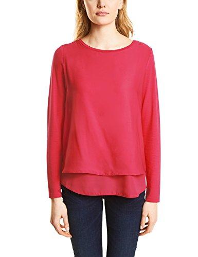 Street One Damen Langarmshirt Rosa (Colada Pink 11263)