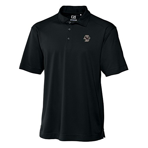 Cutter & Buck NCAA Boston College Eagles Men's Genre Polo Shirt, Black, X-Large
