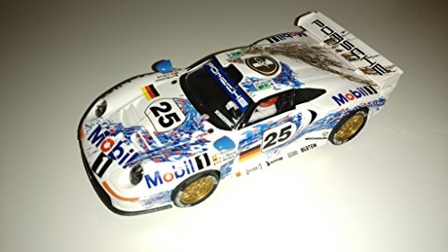 Scalextric porsche 911 gt1 colección altaya duelos