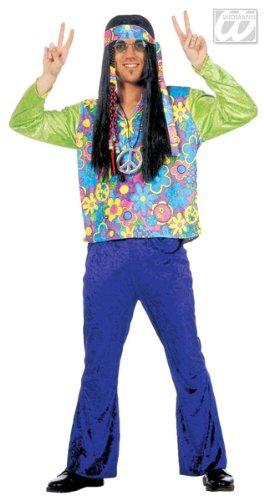 Déguisement Flower Power Homme LUXE, adulte (Kostüm Homme Luxe)