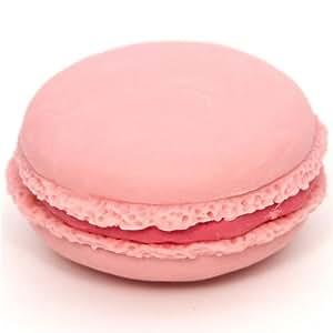 Gomme japonaise French Pastry en forme de macaron rose
