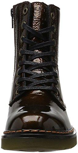 Bullboxer Lace-up Boots, Bottes Rangers femme Marron