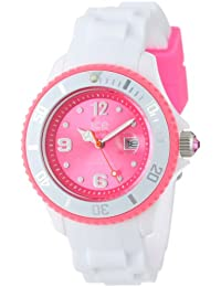 Ice-Watch Armbanduhr ice-White Unisex WeissŸ/Pink SI.WP.U.S.11