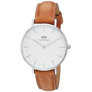 Daniel Wellington Reloj Analógico para Hombre de Cuarzo con Correa en Cuero DW00100184