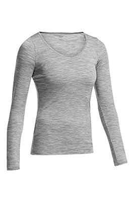 Icebreaker Damen Shirt Unterhemd Langarm Siren Longsleeve Sweetheart von Icebreaker bei Outdoor Shop