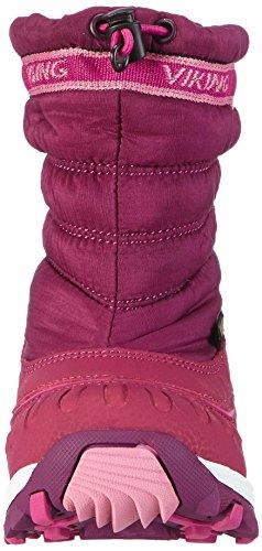 Viking WINDCHILL GTX, Unisex-Kinder Gefütterte Schneestiefel Violett (Plum/Dark Pink 6239)
