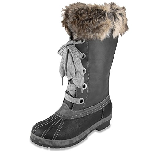 london-fog-melton-cold-weather-waterproof-snow-boots-black-grey-6-us