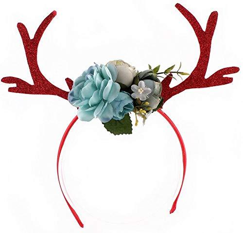 SUxian Weihnachten Haarband Mode kreative Geweih Stirnband Kostüm Kostüme Zubehör Haarschmuck ()