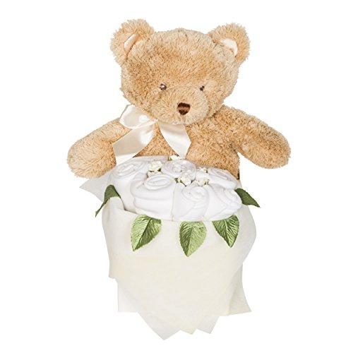 Rosebud Teddy Box - Blanc classique