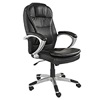 Mahmayi Tracy 2201 Executive High Back Chair - Black