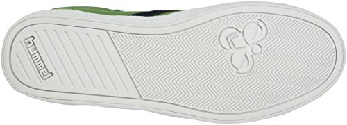 Hummel DEUCE COURT SUMMER, Sneakers basses mixte adulte Vert (Flourite Green)
